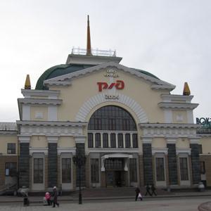 Железнодорожные вокзалы Октябрьского